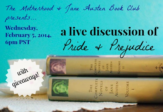 motherhood and jane austen live discussion #1