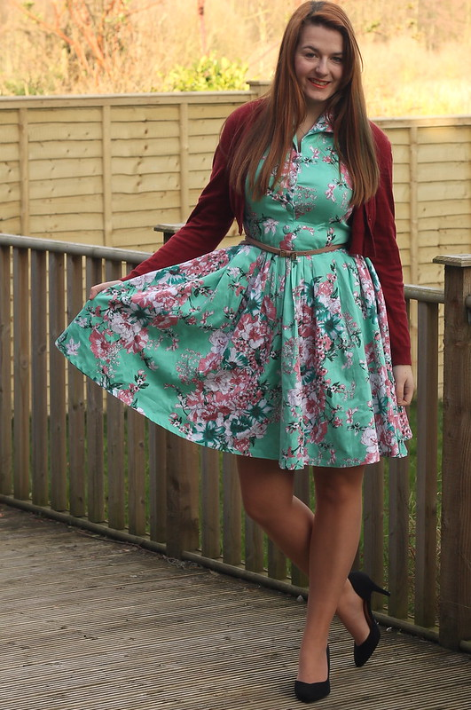 british style blog, Voodoo Vixen Tilly dress