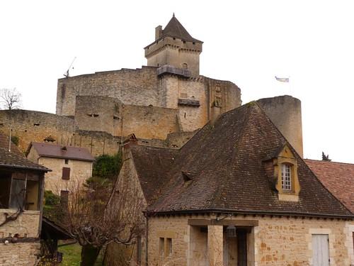 Castillo de Castelnaud (Périgord, Francia)