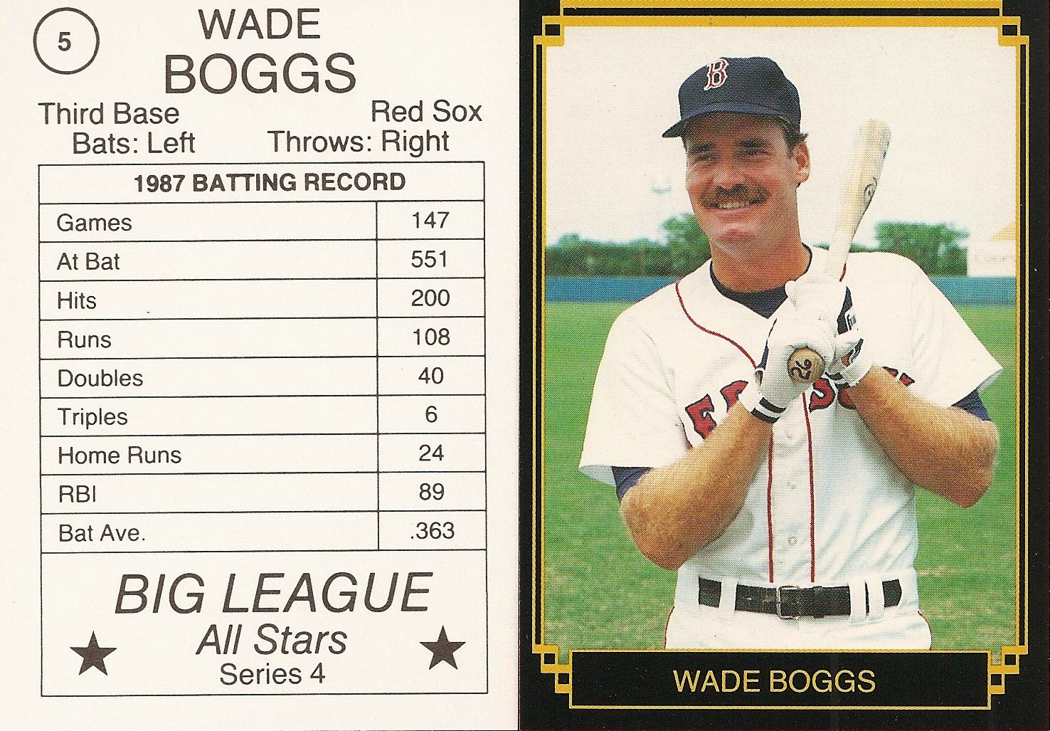 1988 Big League All-Stars Series 4