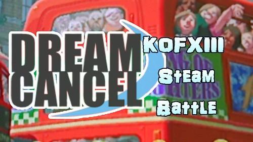 DC KOF XIII Steam Battles