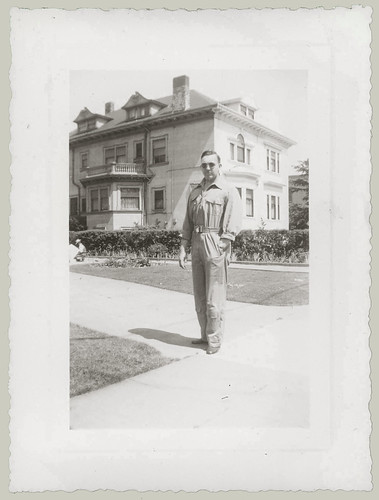 Man on sidewalk