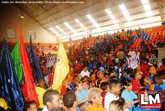 Inauguración en el Poli Deportivo Moca, Centro de Iniciación Deportiva Escolar (CIDE) 2014.