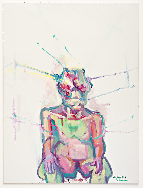 Maria Lassnig Sciencia 1998 at MoMA PS1
