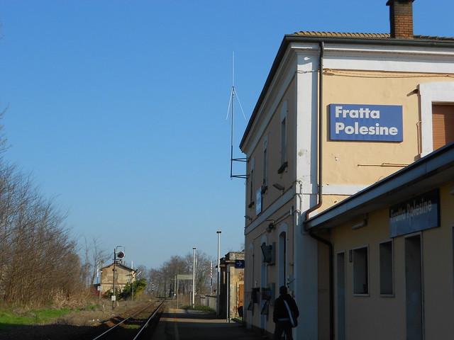 aspettando il treno da Rovigo, Fratta Polesine