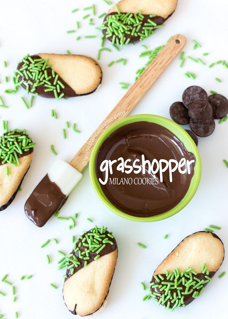 Grasshopper Milano Cookies
