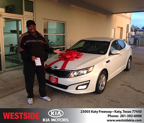Thank you to Daniel Childs on your new 2014 #Kia #Optima from Rick Hall and everyone at Westside Kia! #NewCar by Westside KIA