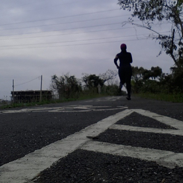 20140316 run   #有跑步沒在怕的
