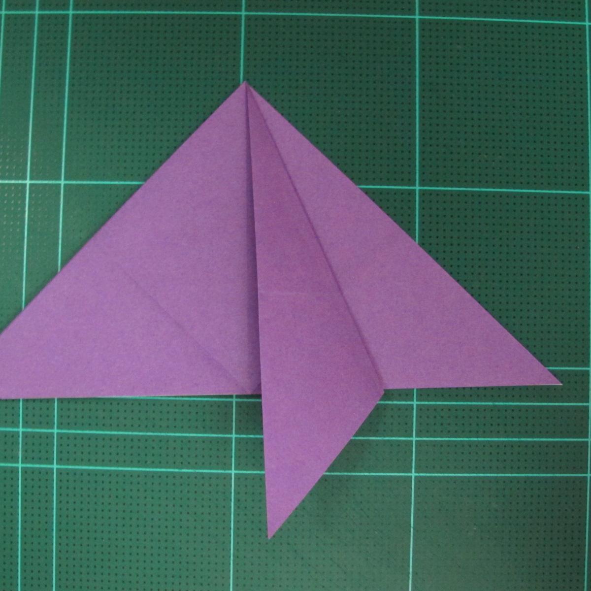 การพับกระดาษเป็นฐานนกอินทรี (Origami Eagle) 008