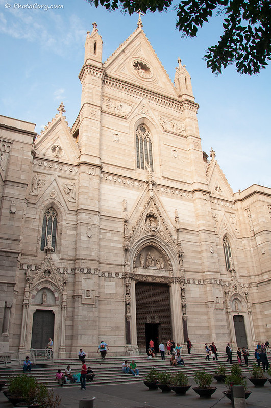 church in the old center of Naples