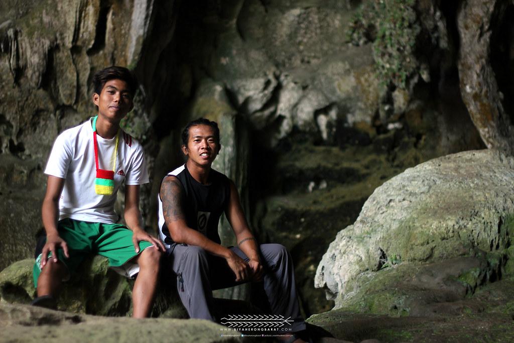 Guides in Callao Cave Penablanca Cagayan