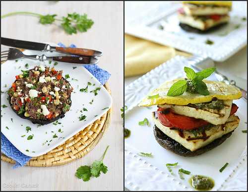 Portobello Mushroom Recipes | cookincanuck.com #vegetarian