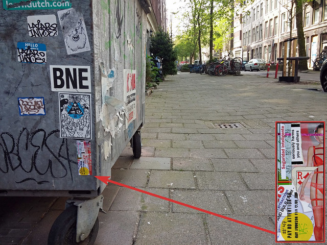 RJFC sticker #47 (left in Amsterdam)