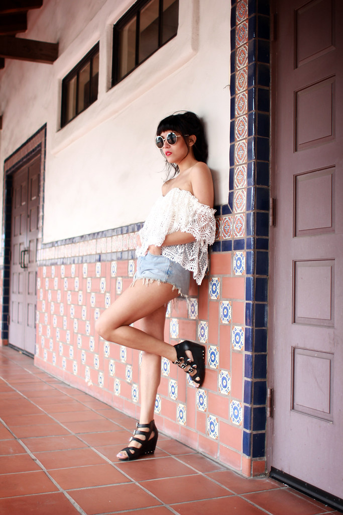 Stone Cold Fox Holy Tube, Dolce Vita Helix sandals
