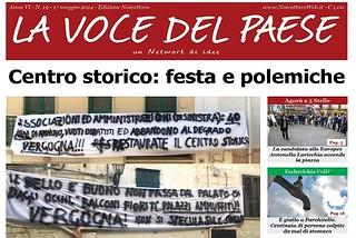 Noicattaro. Prima pagina n. 19-2014 front