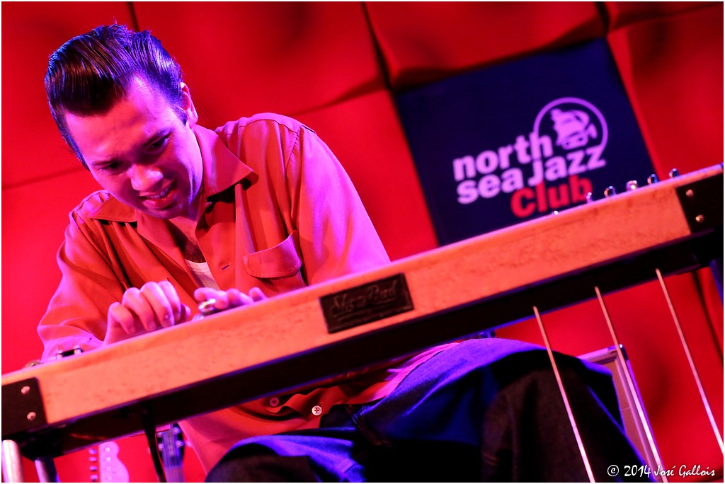 Ian Siegal Band @ North Sea Jazz club 17.04.14