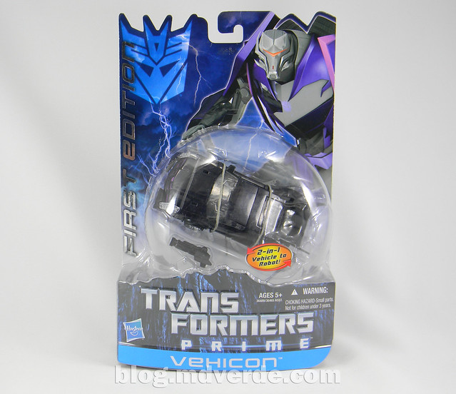 Transformers Vehicon Deluxe - Transformers Prime First Edition - caja