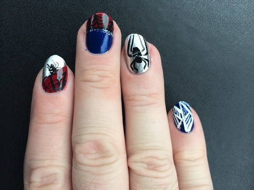 The AMAZING SPIDER-NAILS