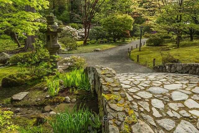 Rustic Stone Bridge In Seattle 39 S Japanese Garden Flickr