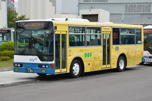 バイオディーゼル燃料バス