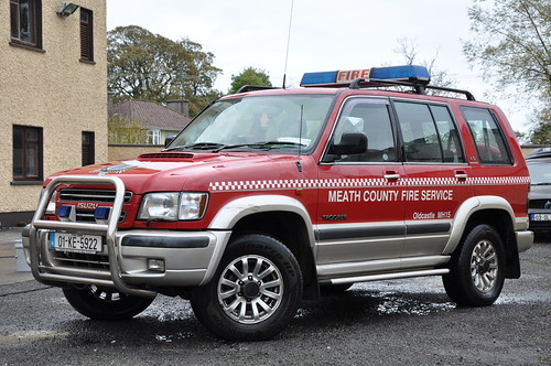 Meath Fire & Rescue Service 2001 Isuzu Trooper MFRS L4V 01KE5922