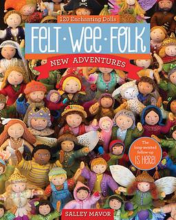 Felt Wee Folk by Salley Mavor