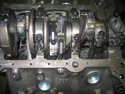 Built ~4 3 Short Block, 4-bolt, Forged pistons, H-Beams 0