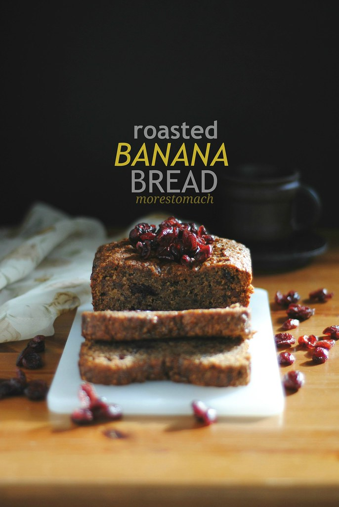 Roasted Banana Bread