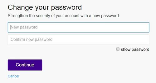 ganti password yahoo
