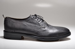 outdoor shoe, footwear, shoe, oxford shoe, leather, black-and-white, black,