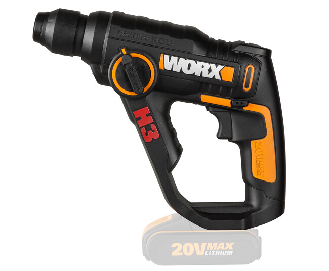 The H3 Rotary Hammer from WORX has been upgraded