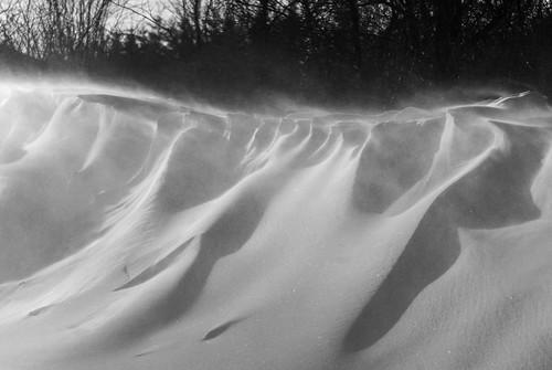 winter snow ontario canada cold snowdrift wave oakwood drifting drift