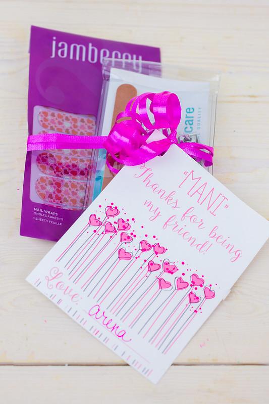 Valentine Manicure Printable
