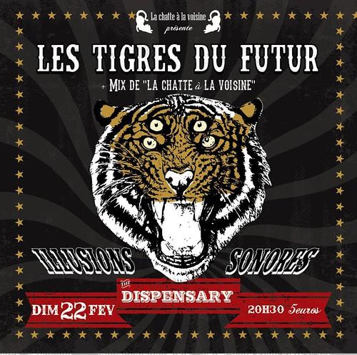 affiche Les Tigres du Futur