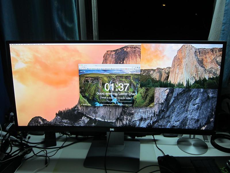 Dell UltraSharp 34 Curved Monitor (U3415W) - PiP