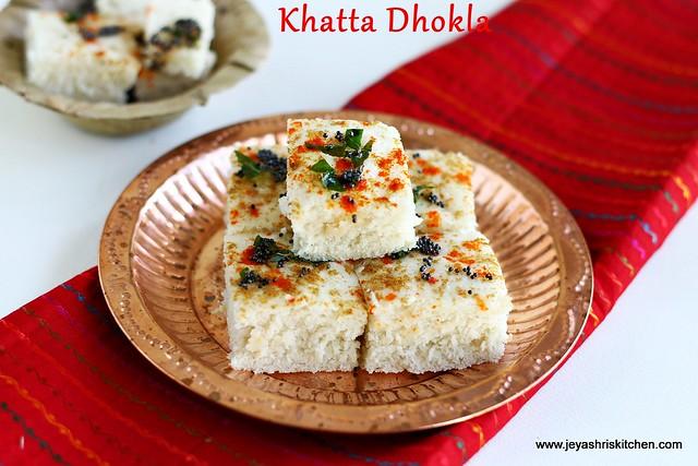 Khatta-dhokla
