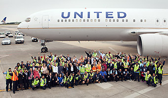 United Airlines 30 yrs at IAD