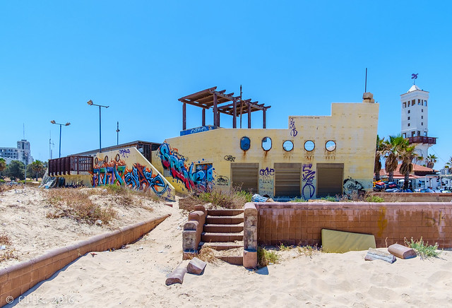 Abandoned Beach Restaurant, Ashdod