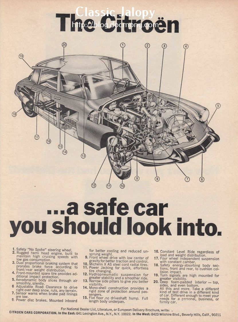 Citroen DS Safety