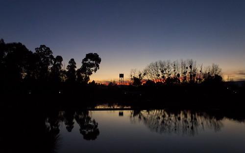 autumn sunset sky de atardecer universidad otoño talca utal