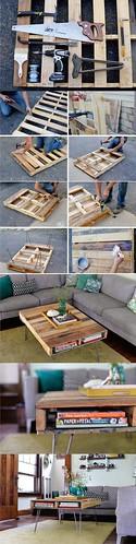 16 DIY Coffee Table Projects - DIY Joy