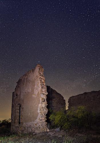 Estrellas en Serón, cerca de la Posada del Candil