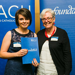 ACUscholarship2016-170 Abbey Morgan and Prof. Karen Flowers