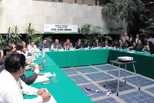 El día 6 de julio se llevó a cabo en la H. Cámara de Diputados la octava reunión ordinaria de la Comisión de Agricultura y Sistemas de Riego.