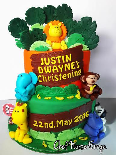 Jungle Themed Cake by Erryn Delos Santos of Chef Nurse Erryn