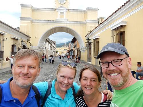 Antigua - met Birger en Chris