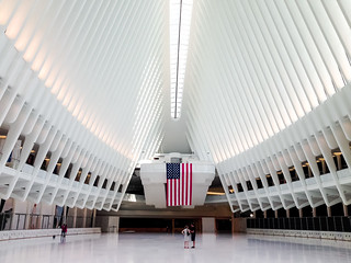 Inside the Oculus. New York