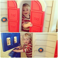 Dude LOVES this play house at the doctor