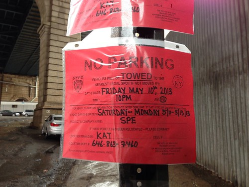 Spiderman 2 Filming in Dumbo Brooklyn