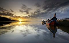 Jelutong Dove Jetty Sunrise